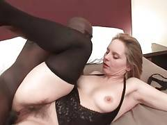 Slutty Old Whore Magda Enjoys Big Black Cock 1