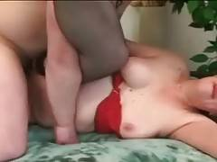 Horny Dude Attacks Slutty Old Tart 1