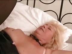 Tough Young Stud Drills Slutty Granny 2