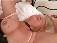 Tough Young Stud Drills Slutty Granny 3