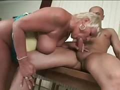 Horny Dude Thoroughly Screws Slutty Aged Blonde 3