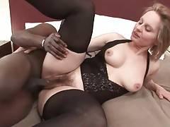 Black Dude Attacks Nasty White Granny 2
